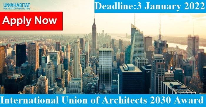 International Union of Architects 2030 Award