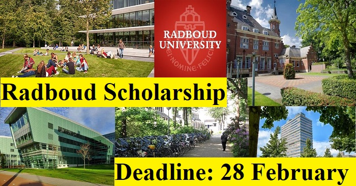Radboud University Scholarship 2022 in #Netherlands